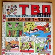 Tebeos: TBO 2000, Nº 2009 - EDITORIAL BUIGAS 1972. Lote 26863405