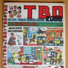 Tebeos: TBO 2000, Nº 2011 - EDITORIAL BUIGAS 1972. Lote 26863557
