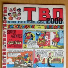 Tebeos: TBO 2000, Nº 2013 - EDITORIAL BUIGAS 1972. Lote 26863584