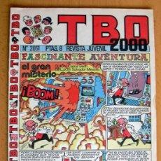 Tebeos: TBO 2000, Nº 2051 - EDITORIAL BUIGAS 1972. Lote 26867769