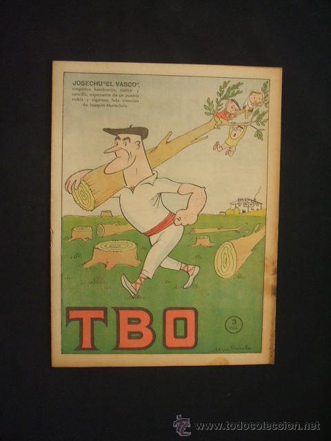 TBO - Nº 327 - JOSECHU EL VASCO - (Tebeos y Comics - Buigas - TBO)