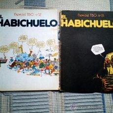 Tebeos: EL HABICHUELO Nº 12 Y 13 (ESPECIALES DEL TBO). Lote 28710528