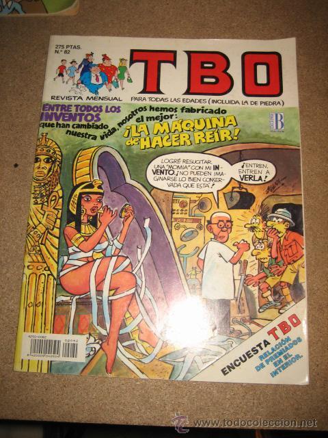 TBO Nº 82 ENTRE TODOS LOS INVENTOS INTERIOR REPRODUCCION DEL TBO Nº 678 ...EDICIONES B (Tebeos y Comics - Buigas - TBO)