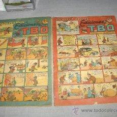 Tebeos: REVISTA ALEGRE EDICIONES TBO Y REVISTA FESTIVA DE EDICIONES TBO.. Lote 30251661