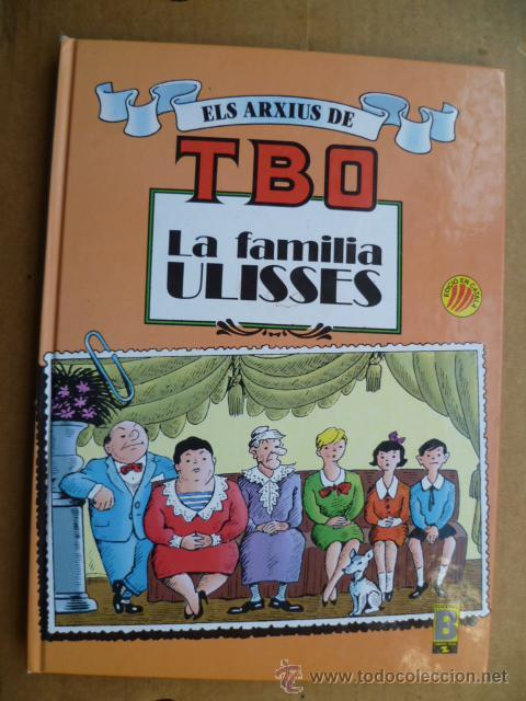 ELS ARXIUS DE TBO Nº 1. LA FAMILIA ULISSES ( EN CATALÀ) (Tebeos y Comics - Buigas - TBO)