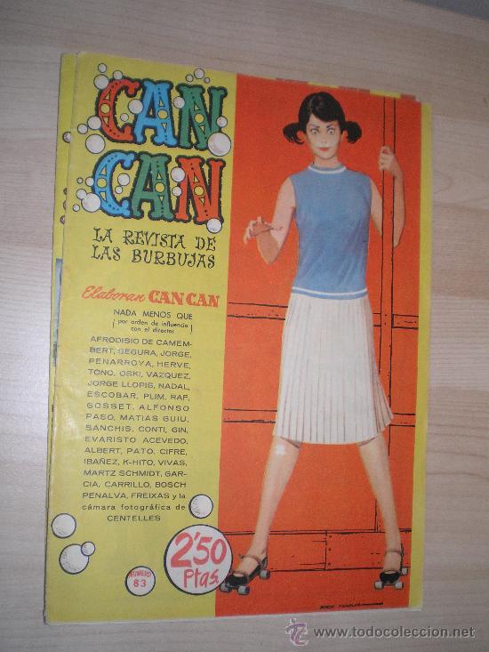 CAN CAN LA REVISTA DE LAS BURBUJAS AÑOS 50 (Tebeos y Comics - Buigas - Otros)