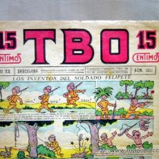 Tebeos: TBO, Nº 1011, EDITORIAL BUIGAS, BARCELONA, 15 CENTIMOS, FLOREAL CONTRAPORTADA. Lote 31005996