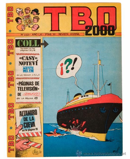 TBO Nº 2221 - 1977 (Tebeos y Comics - Buigas - TBO)