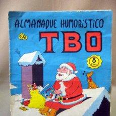 Tebeos: COMIC, ALMANAQUE HUMORISTICO, TBO, 1968,. Lote 31797621