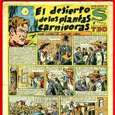 Tebeos: AVENTURAS DE S , EDICIONES DE TBO , BUIGAS, EL DESIERTO DE LAS PLANTAS CARNIVORAS , ORIGINAL, H17. Lote 32585974
