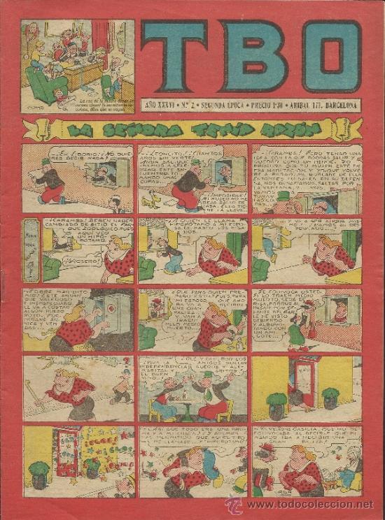 TBO - SEGUNDA EPOCA- Nº-2 - (COM-120) (Tebeos y Comics - Buigas - TBO)