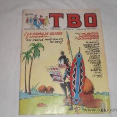 Tebeos: TBO Nº 1 EDICIONES B 1988. Lote 33751222