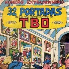 Tebeos: TBO EXTRA 32 PORTADAS MAS REPRESENTATIVAS . Lote 36447931