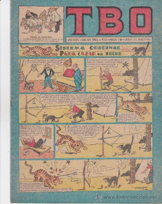 LOTE DE 3 NºS TBO DE 1,30 PESETAS (Tebeos y Comics - Buigas - TBO)