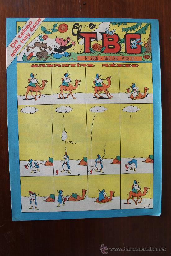 TBO Nº 2.368 - MANANTIAL AEREO - EDITADO POR BUIGAS AÑO 1980 - COMIC COLOR (Tebeos y Comics - Buigas - TBO)
