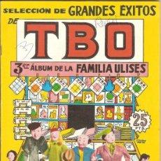 BDs: TBO, 3ER. ÁLBUM DE LA FAMILIA ULISES – 1958. Lote 38414810
