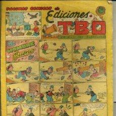 Tebeos: PÁGINAS CÓMICAS DE EDICIONES TBO. Lote 38501197