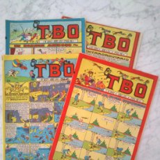 Tebeos: EL TBO - LOTE DE 4 NÚMEROS: 2427-2442-2443-2454 - BUIGAS, ESTIVILL Y VIÑA - 1981. Lote 38700827