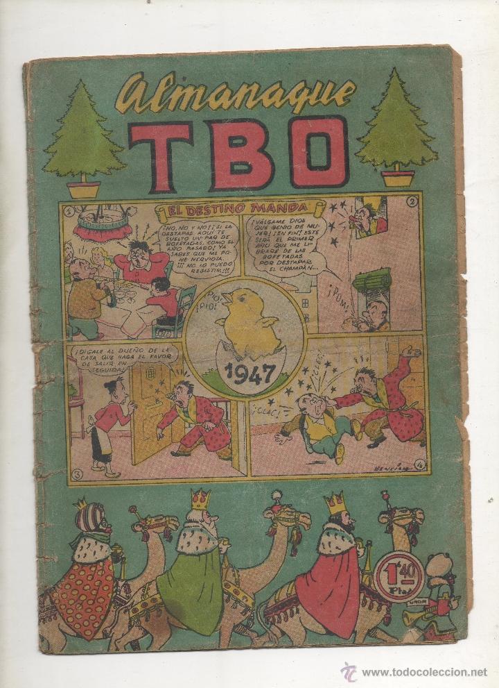 TBO ALMANAQUE 1947 (Tebeos y Comics - Buigas - Otros)
