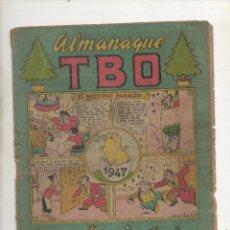 Tebeos: TBO ALMANAQUE 1947. Lote 39812515