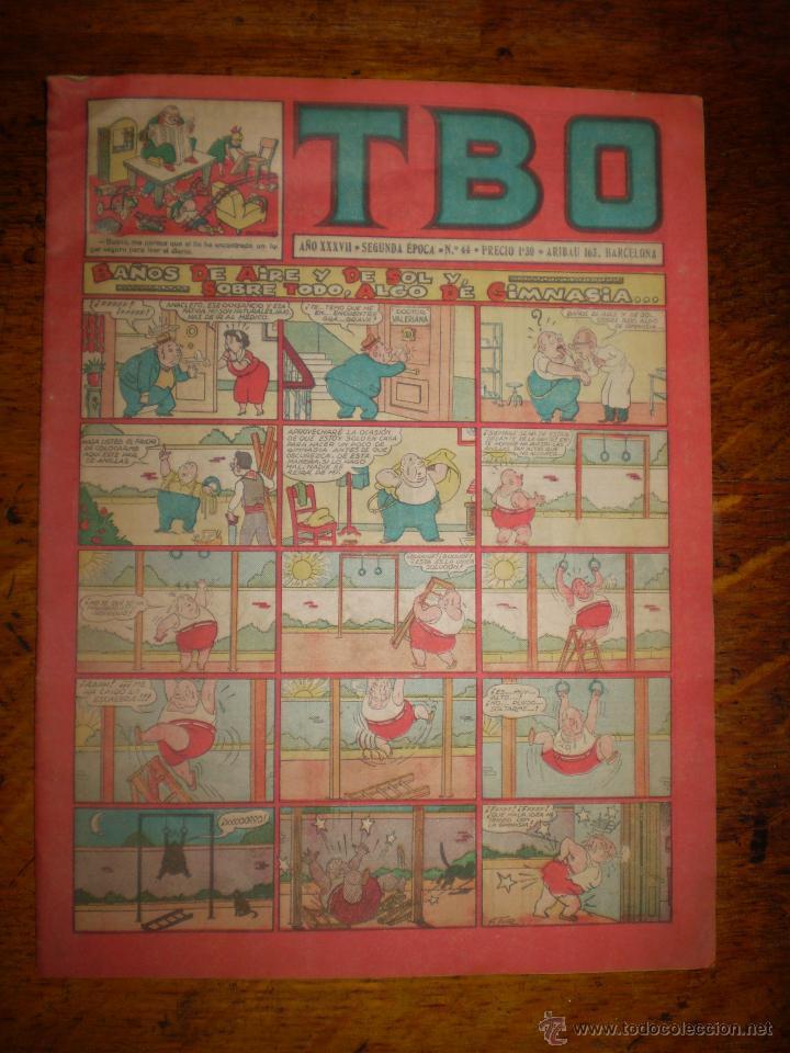 TBO AÑO XXXVII - SEGUNDA EPOCA - Nº 44 - PRECIO 1,30 (Tebeos y Comics - Buigas - TBO)