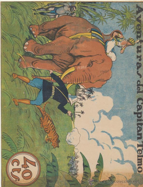 COLECCIÓN GRÁFICA TBO Nº 28. AVENTURAS DEL CAPITÁN TELMO. BUIGAS 1919. (Tebeos y Comics - Buigas - Otros)