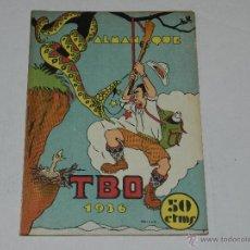 Tebeos: (M-1) ALMANAQUE TBO 1936 , PORTADA DE OPISSO, COMPLETO !!! TOTALMENTE ORIGINAL. Lote 40203090