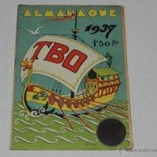 Tebeos: (M-1) ALMANAQUE TBO 1937 , PORTADA DE OPISSO, COMPLETO !!! TOTALMENTE ORIGINAL. Lote 40203141
