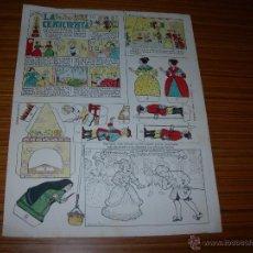 Tebeos: COLECCION MAGISTER RECORTABLES DE BUIGAS Nº LA CENICIENTA . Lote 40627592