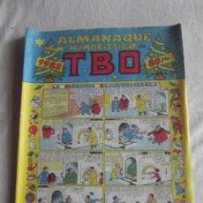 Tebeos: ALMANAQUE HUMORISTICO TBO 1982. Lote 40850979