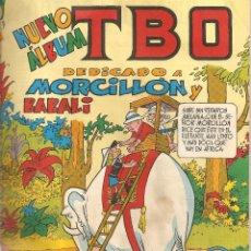 Tebeos: TBO. NUEVO ALBUM. DEDICADO A MORCILLON Y BABALI. Lote 41060248