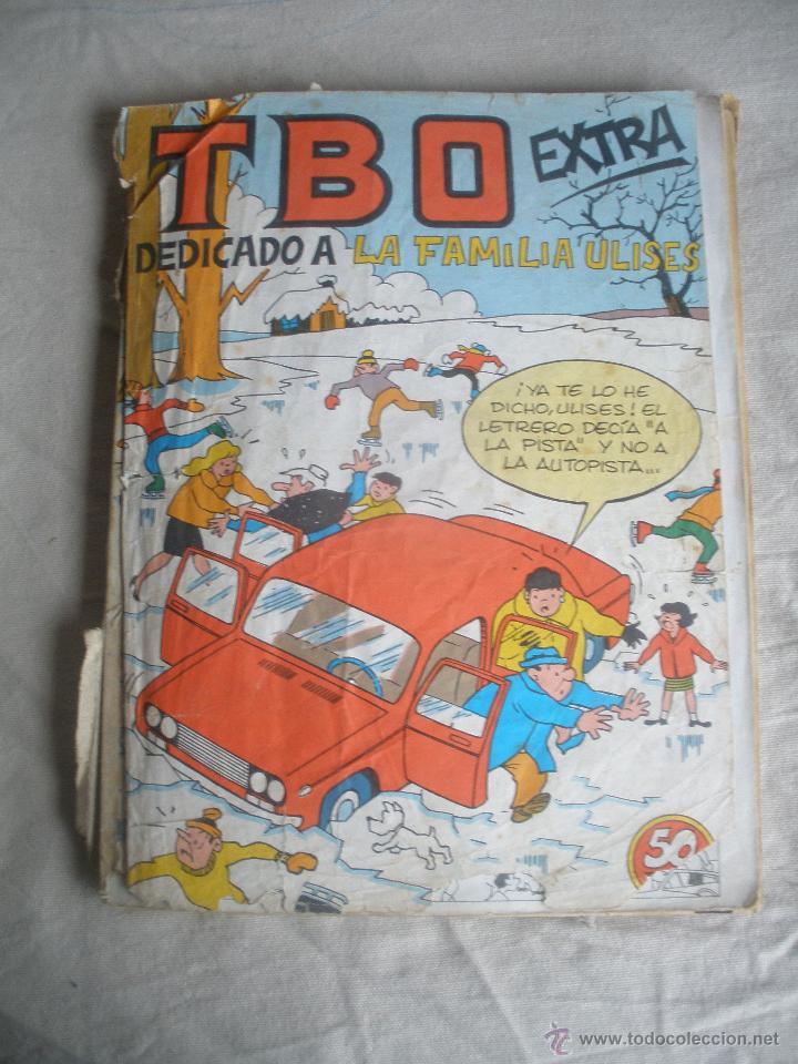 TOMO DE EJEMPLARES DE TBO.EXTRA DEDICADO A LA FAMILIA ULISES.CALENDARIO 1978. (Tebeos y Comics - Buigas - TBO)