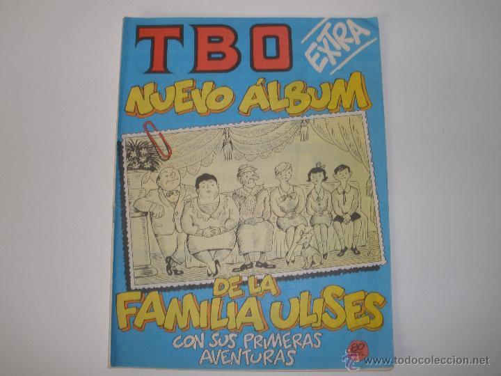 TBO 1-82 EXTRA NUEVO ALBUM DE LA FAMILIA ULISES (Tebeos y Comics - Buigas - TBO)