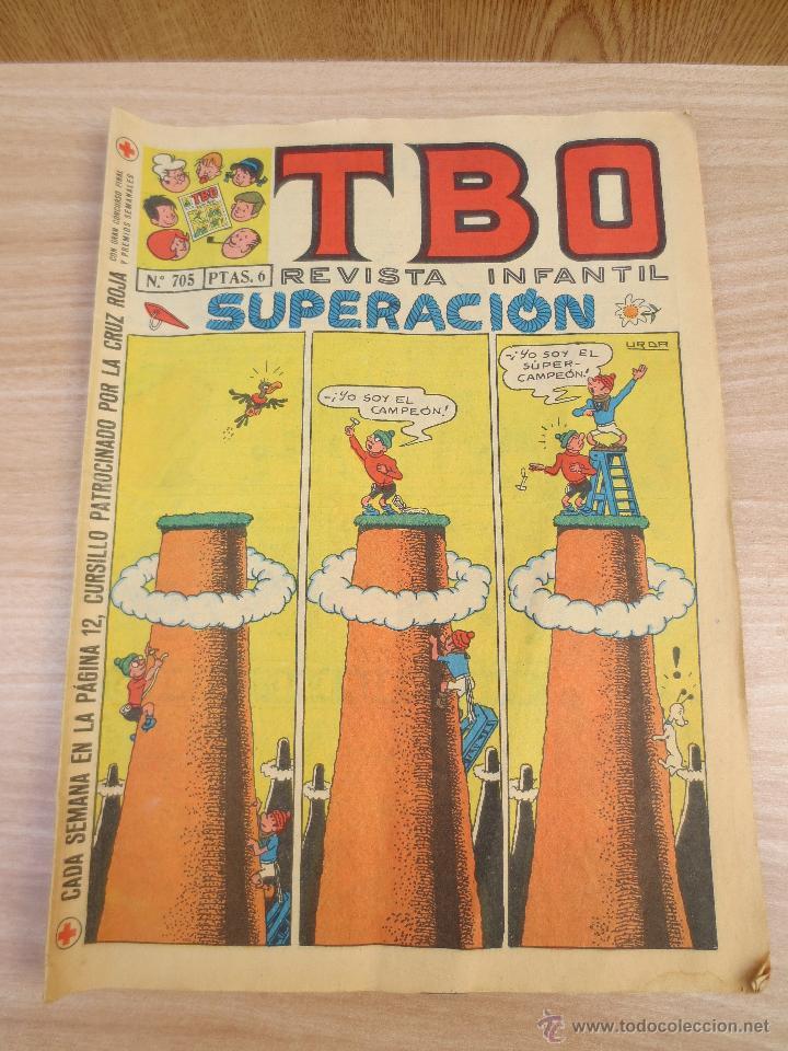 TBO- REVISTA INFANTIL- Nº 705 . (Tebeos y Comics - Buigas - TBO)