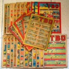 Tebeos: LOTE DE REVISTA-COMIC . 28 TBO . BUIGAS + OBSEQUIO DE 3 DDT . (VER Y LEER). Lote 106621907