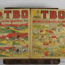 Tebeos: D-373. LOTE DE TEBEOS INFANTILES. TBO, PULGARCITO Y SISSI. AÑOS 50 /80.. Lote 42790636