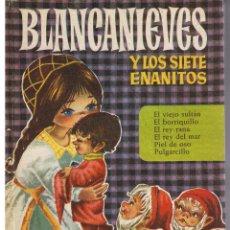 Tebeos: COLECCIÓN HEIDI. NUMERO 4. BLANCANIEVESY LOS SIETE ENANITOS. BRUGUERA 1966. Lote 43474969
