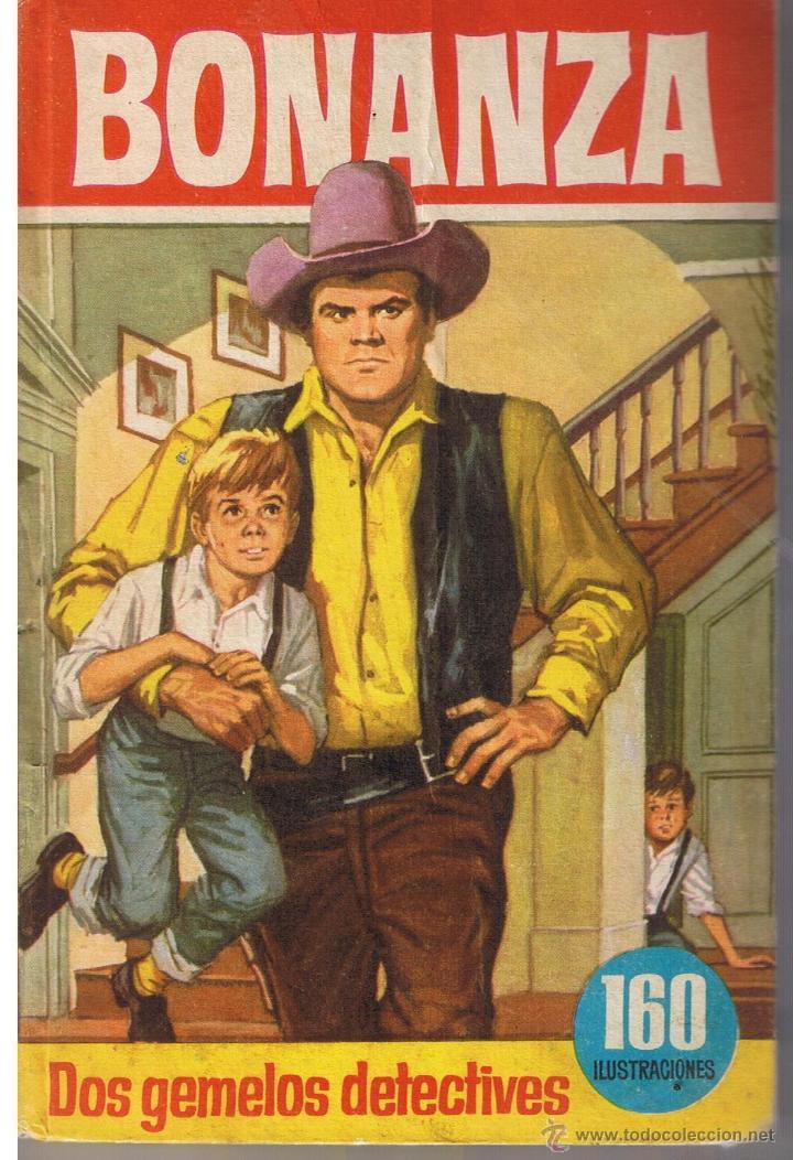 COLECCIÓN HEROES. NUMERO 60. BONANZA. DOS GEMELOS DETECTIVES. BRUGUERA 1966 (Tebeos y Comics - Buigas - Otros)