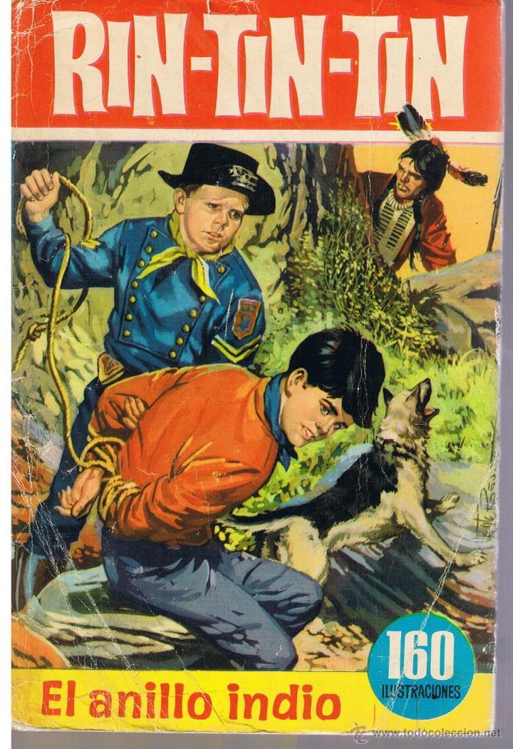 COLECCIÓN HEROES. NUMERO 17. RIN - TIN - TIN. EL ANILLO INDIO. BRUGUERA 1965 (CON SOBRECUBIERTA) (Tebeos y Comics - Buigas - Otros)
