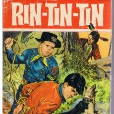 Tebeos: COLECCIÓN HEROES. NUMERO 17. RIN - TIN - TIN. EL ANILLO INDIO. BRUGUERA 1965 (CON SOBRECUBIERTA). Lote 43477058
