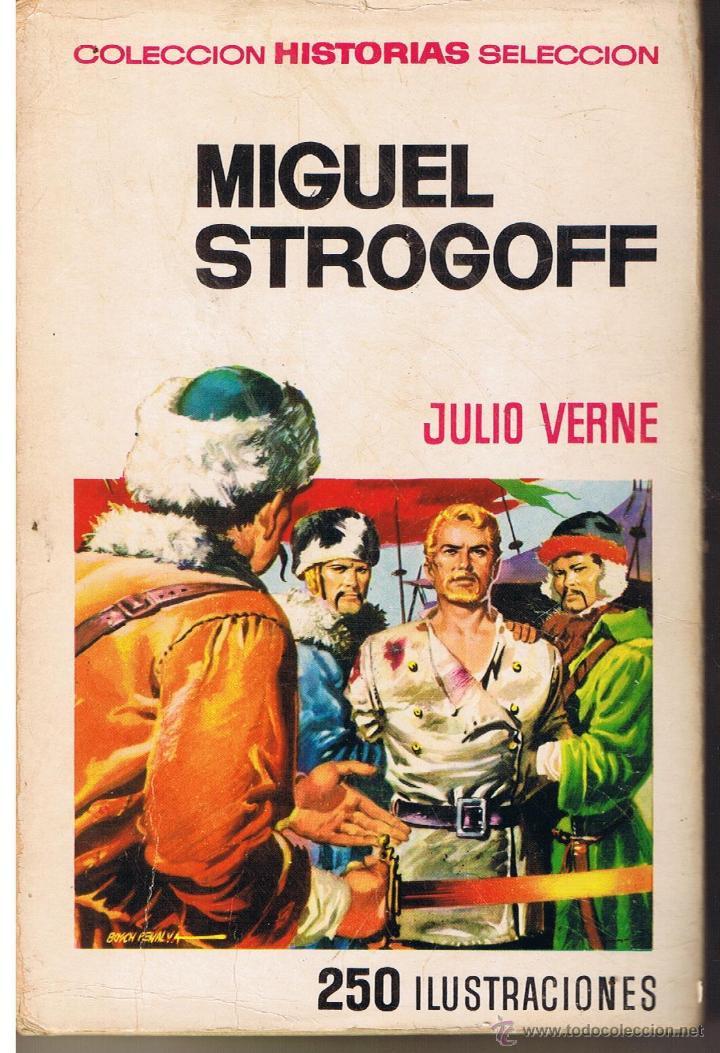 COLECCIÓN HISTORIAS SELECCION. JULIO VERNE. Nº 2. MIGUEL STOGOFF. BRUGUERA 1971 (Tebeos y Comics - Buigas - Otros)