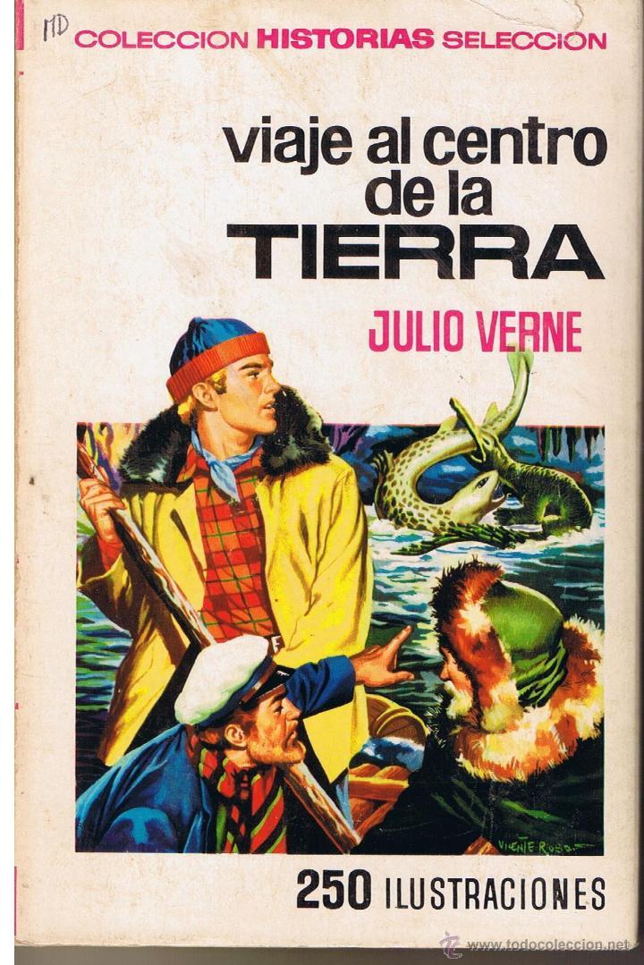 COLECCIÓN HISTORIAS SELECCION. JULIO VERNE. Nº 4. VIAJE AL CENTRO DE LA TIERRA. BRUGUERA 1973(ST/SL) (Tebeos y Comics - Buigas - Otros)