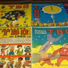 Tebeos: TBO ALMANAQUE 1965, 1966 Y 1971. BUIGAS. DE REGALO EXTRA URDA Y 400 CHISTES.. Lote 43643437