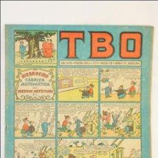 Tebeos: ANTIGUO CÓMIC - TBO. HIERROCIRO. FÁBRICA... - AÑO XXXVI. Nº 9 - EDICIONES TBO / BUIGAS, 1952-1972. Lote 43803735