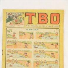 Tebeos: ANTIGUO CÓMIC - TBO. ENVIDIA - AÑO XXXVI. Nº 10 - EDICIONES TBO / BUIGAS, 1952-1972. Lote 43803771