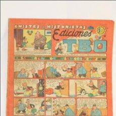 Tebeos: ANTIGUO CÓMIC - CHISTES E HISTORIETAS ED. TBO. EL TREN DE.. - EDICIONES TBO / BUIGAS - 1951. Lote 43803961