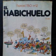 Tebeos: ESPECIAL TBO EL HABICHUELO NÚMERO 12 MIR SIRVENT THARRATS ED BUIGAS. Lote 43857623