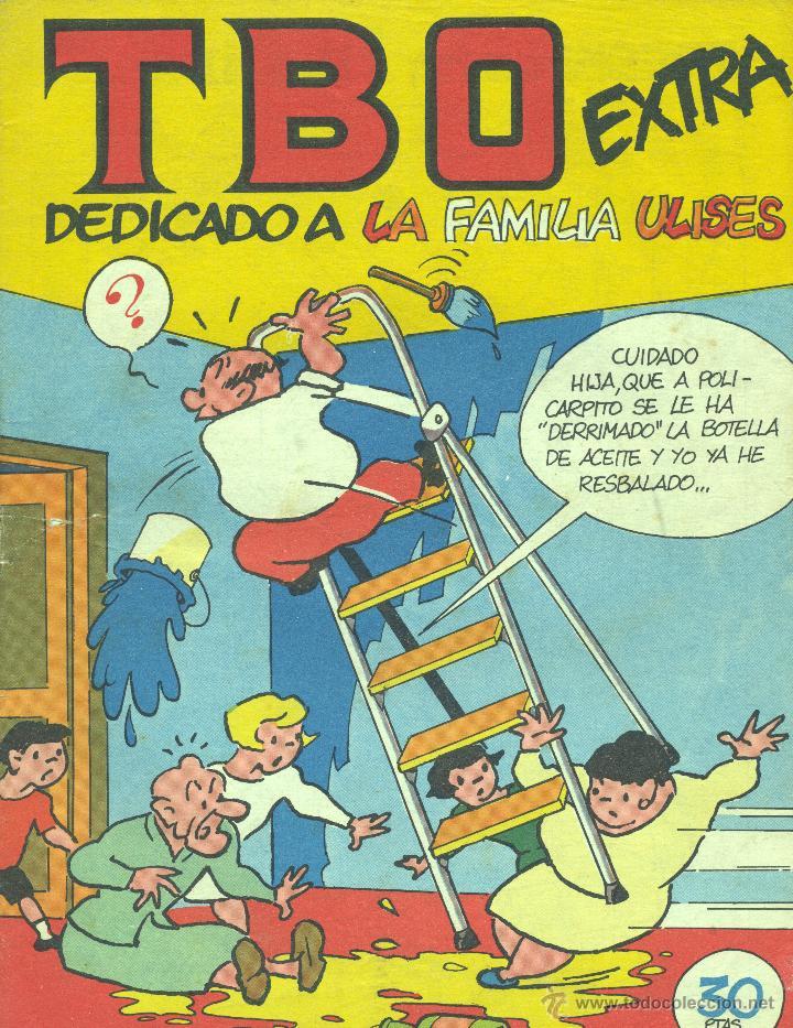 TBO EXTRA. LA FAMILIA ULISES (ÁLBUM 8). DIBUJOS DE BENEJAM (Tebeos y Comics - Buigas - TBO)