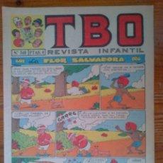 Tebeos: TBO Nº 540 DE 1 DE MARZO DE 1968. Lote 44672895