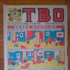Tebeos: TBO Nº 591 DE 21 DE FEBRERO DE 1969. Lote 44672948
